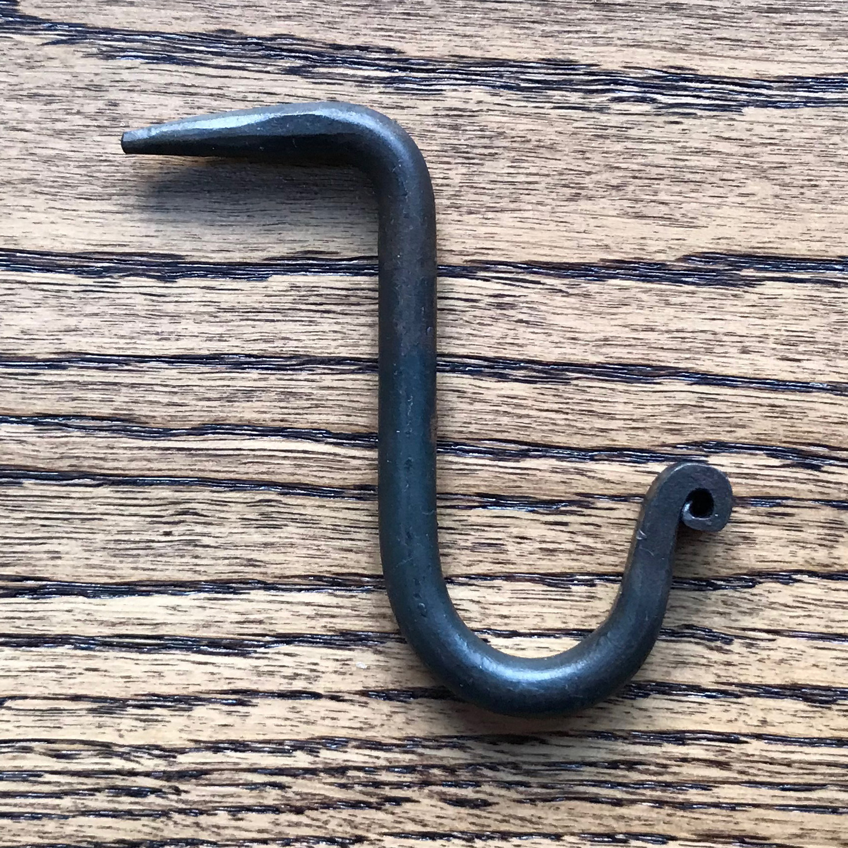 "3"" Nail In Black Cup Hook"