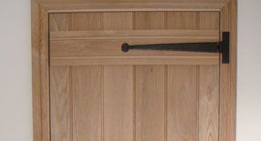 How to Hang a Door Using Antique T Hinges