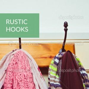 rustic door hooks