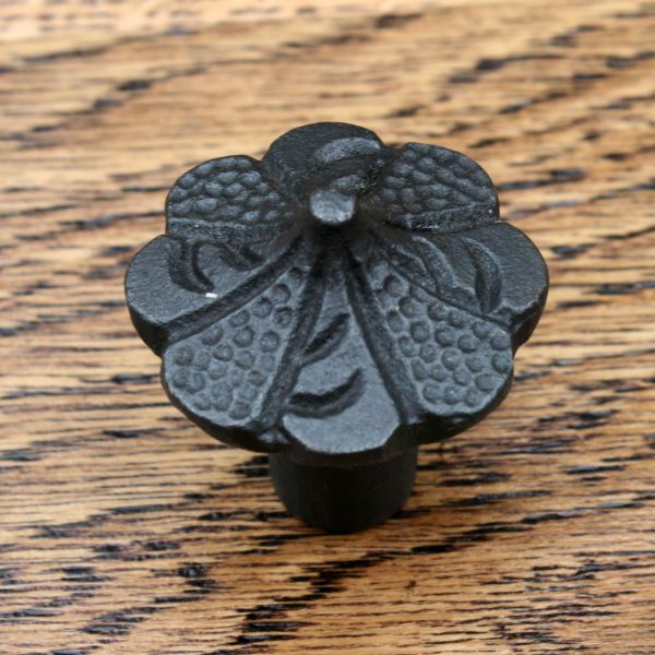 Scalloped Edge Circus Tent Style Cast Iron Cabinet Knob 31mm