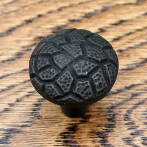 Round Geometric Cast Iron Cabinet Knob 31mm
