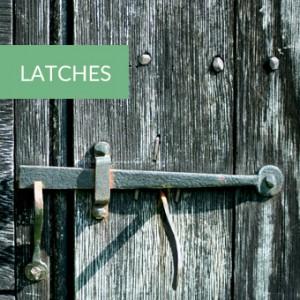 rustic latches