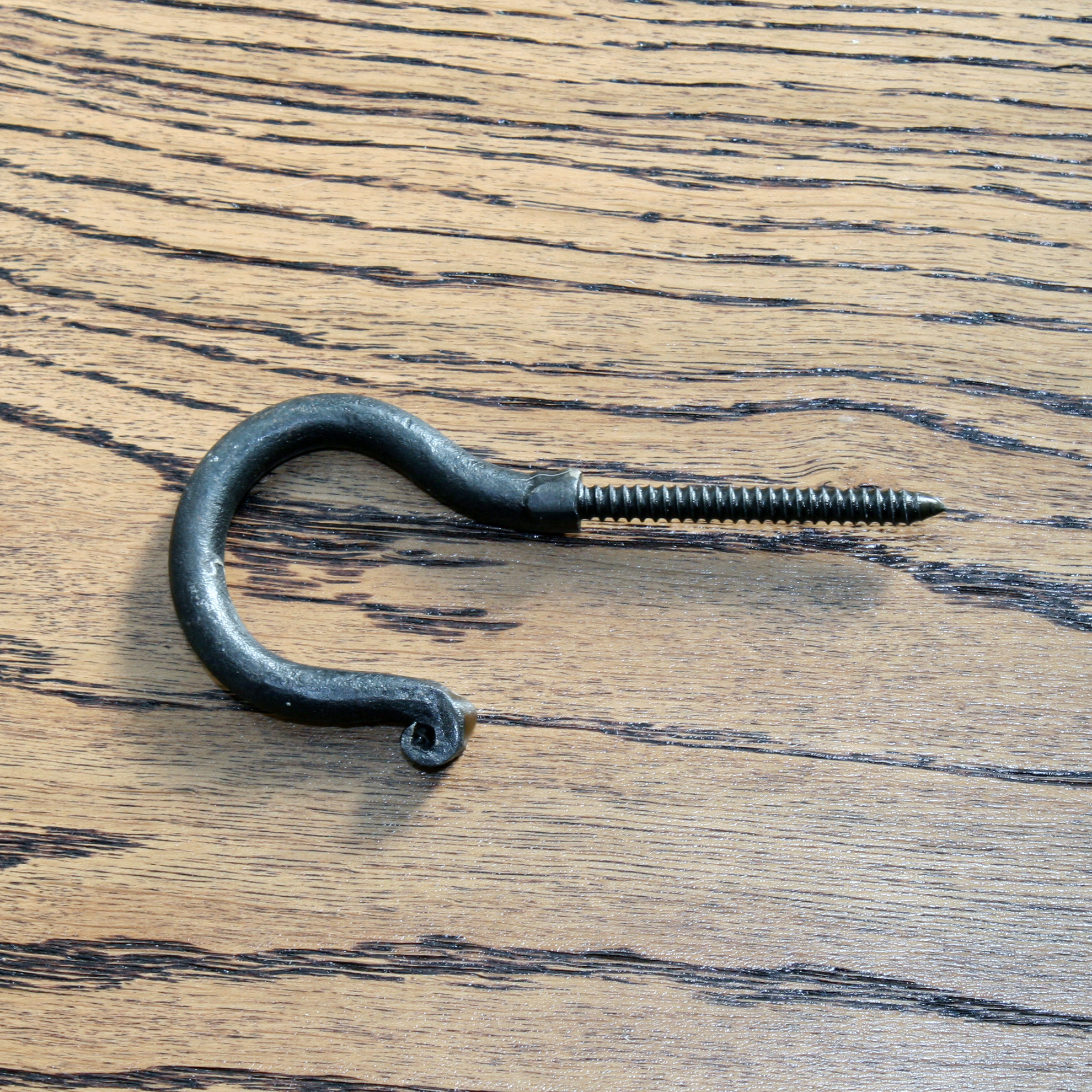 Long Threaded Screw Hook 3""