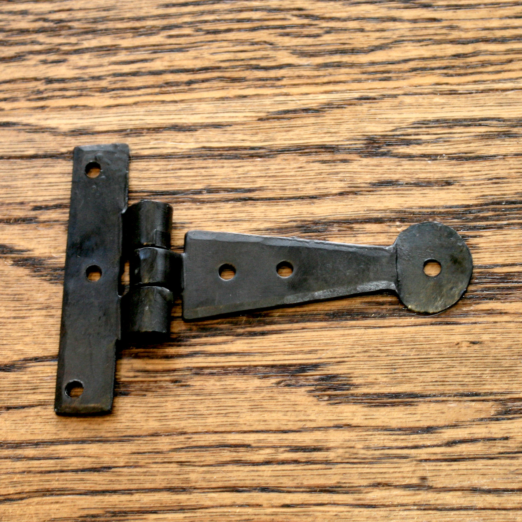 Black Wrought Iron Hinge 6 Quot With Penny End Pair Part